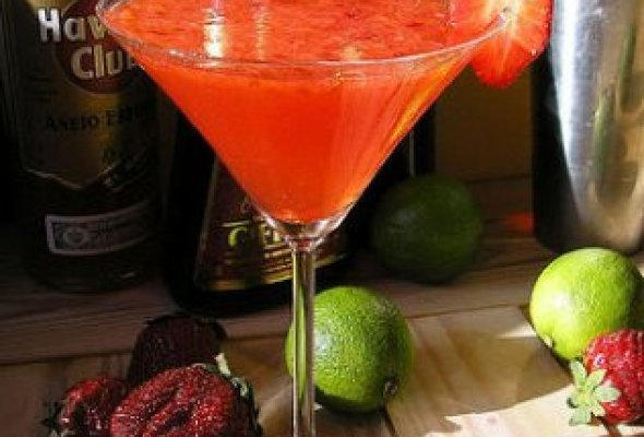 Cocktail de fruta natural