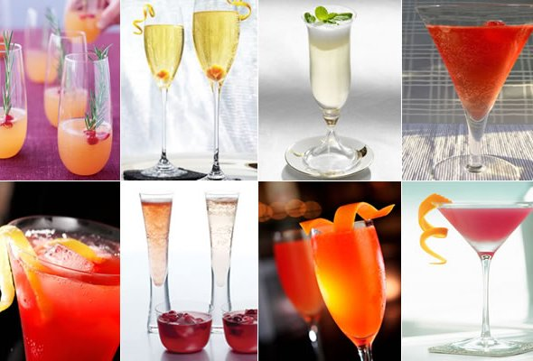 Top 10 cocktails para o réveillon
